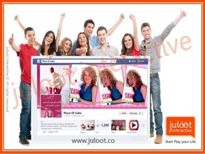 fb game app and campaign for pice-of-cake juloot portfolio