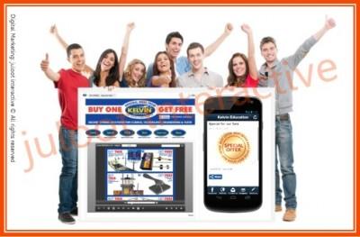 fb KELVIN EDU app by juloot interactive portfolio