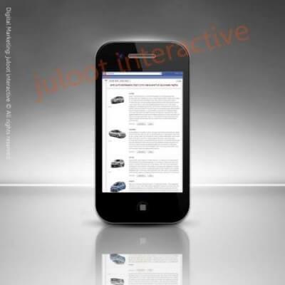 fb catalog app for talkar motors by juloot interactive