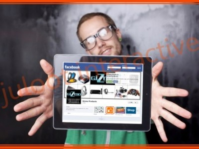 fb page and apps for Gizmo by juloot interactive