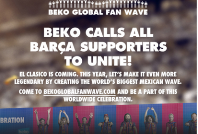 JoinTheTeam fans wave campaign Barca