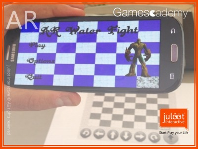 AR mobile game app juloot interactive