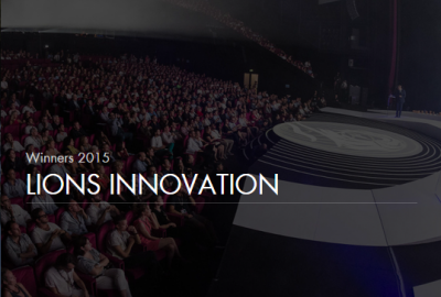 Lions innovation Win 2015